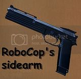 Robocop's gun