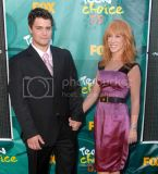 Levi Johnston (L) and Kathy Griffin